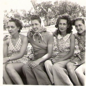 Mom, second in from right